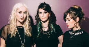 Wyvern Lingo – Caoimhe Barry,  Karen Cowley and Saoirse Duane –  tee up the release of their much anticipated debut album with a single launch show