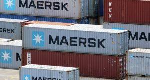 Maersk is splitting itself up because the rationale for being a broad-based conglomerate had been shown to be wrong-headed after the financial crisis. Photograph: Focke Strangmann/EPA