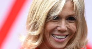 Brigitte Macron: 'We have breakfast together, me with my wrinkles, him with his freshness.'  Photograph: Filippo Monteforte/AFP/Getty Images