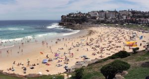 A view of  Bondi Beach in Sydney, Australia. F	ile photograph: Jack Atley/New York Times