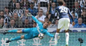 Newcastle United goalkeeper Rob Elliot has said talk over the club's lack of transfer activity is unfair on the current squad. Photograph: Owen Humphreys/PA
