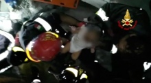Baby pulled alive from rubble of Italian earthquake