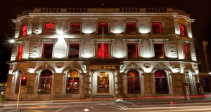 Left Bank in Kilkenny city is Ireland's Sky Bar of the Year. Photograph: Visit Kilkenny
