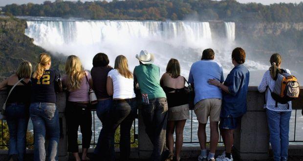 Fingerprints And Eyes Scanned Border Crossing At Niagara Falls