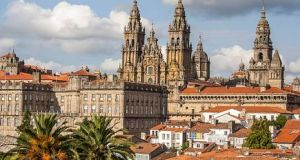 Santiago de Compostela in Spain. Patrick Sinnott was exiled from the city  for two years. Photograph: Getty Images