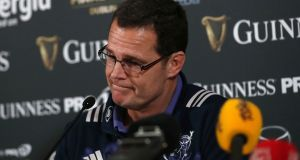 Rassie Erasmus will return to take up a position with the South African rugby union later this year. Photograph: Inpho