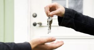 Never hand over the deposit until you have seen the property in person and  are happy with its standards. Photograph: iStock