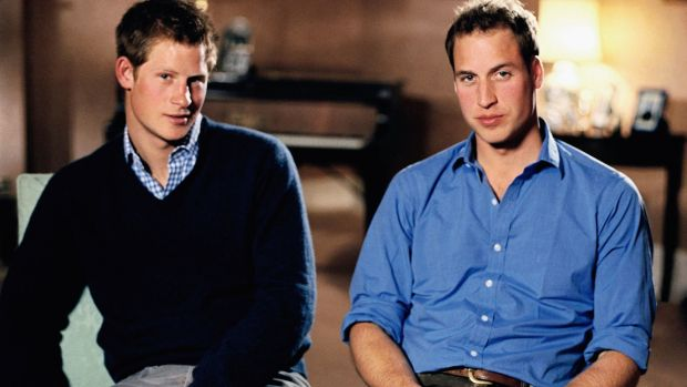 Prince William and Prince Harry in 2006: now reaching a more youthful audience and reinventing the concept of monarchy for the digital age. Photograph: Tim Graham/Getty Images