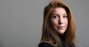 Swedish journalist Kim Wall: Danish inventor Peter Madsen has been charged with her killing. Photograph: TT News Agency/Reuters