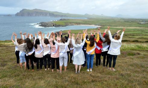 Some of the 2017 Roses enjoy a day of fun around West Kerry .   Photo By Domnick Walsh Eye Focus