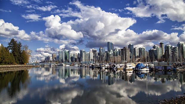 Vancouver just pips sister city Toronto to third place in the most liveable cities rankings. Photograph: Getty Images
