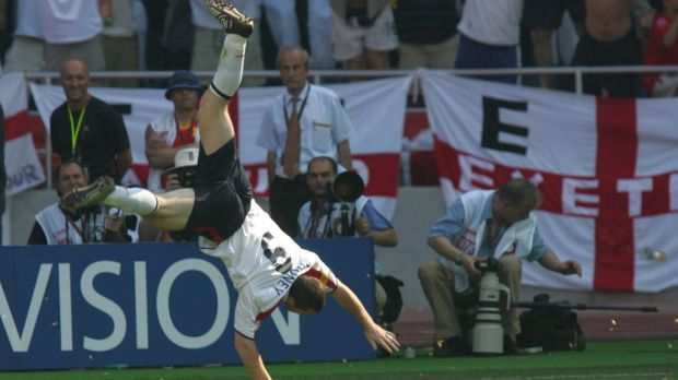 Wayne Rooney burst onto the international scene at Euro 2004 in Portugal. Photograph: Martin Rose/Getty