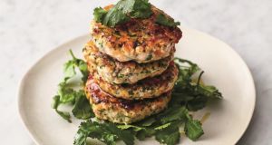 Jamie Oliver's quick Asian fishcakes