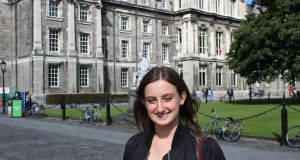 "Sinéad Sweeney at Trinity College Dublin: ""Don't just fall into a degree because you feel like you have to"""