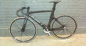 A photograph  issued by the Crown Prosecution Service of the fixed wheel track bicycle that was  ridden by Charlie Alliston when he crashed into Kim Briggs