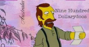 That'll be 900 Dollarydoos, mate: The Simpsons go down under