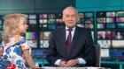 Toddler turns ITV newsdesk into playground on live TV