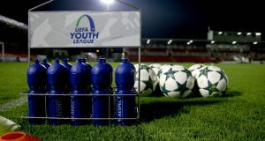 The Uefa Youth League features 64 teams from around Europe. Photograph: Tommy Dickson/Inpho