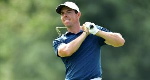 Rory McIlroy begins the defence of his FedEx Cup title at the  Northern Trust Open in New York on Thursday. Photograph:  Stuart Franklin/Getty Images