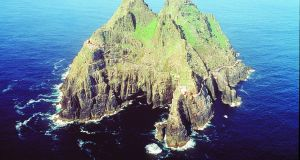 Skellig Michael, where scenes for 'Star Wars: The Force Awakens' and the upcoming 'Star Wars: The Last Jedi' were filmed.