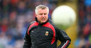 Mayo manager Stephen Rochford is certainly not afraid of making big calls. Photograph: Inpho