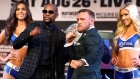 McGregor and Mayweather face off for final time before weigh-in