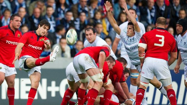 Support the Munster Rugby team as they travel to France in October