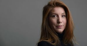 Swedish journalist Kim Wall, whose remains have been found in Copenhagen. Photograph: Tom Wall via AP