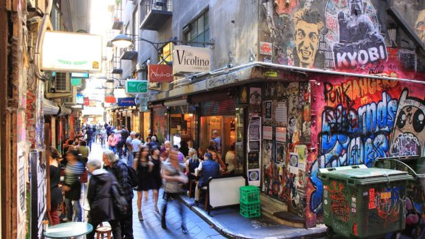 Centre Place in Melbourne CBD. The city is famous for its coffee culture. Photograph: iStock