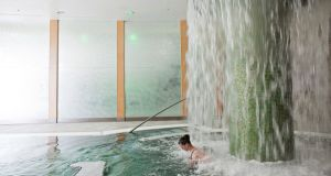 Fota Island Resort has a walking river and hydrotherapy area, ideal for strengthening legs and easing muscles