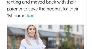 "A Bank of Ireland ad has had a mystifying Twitter backlash for highlighting ""Orla"" and her boyfriend, who moved home to save up a deposit."
