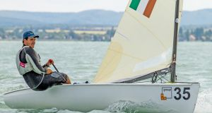 Fionn Lyden from Baltimore in west Cork has begun a new Olympic campaign in the men's heavyweight Finn dinghy for Tokyo 2020. Photograph: Robert Deaves
