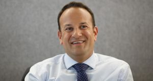 Taoiseach Leo Varadkar. The ESM's latest report was completed before Mr Varadkar's Cabinet  halved Michael Noonan's €1bn 'rainy-day fund'. Photograph: Cole Burston/Bloomberg