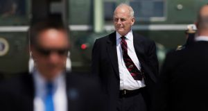 John Kelly, the White House chief of staff: he  has made clear that one thing he will not seek to directly control is the behaviour of the president. Photograph:  Tom Brenner/The New York Times