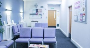 Waiting room at a British pregnancy advisory service clinic in Liverpool,  where some Irish women travel to access abortion. Photograph: Cliona Ni Laoi