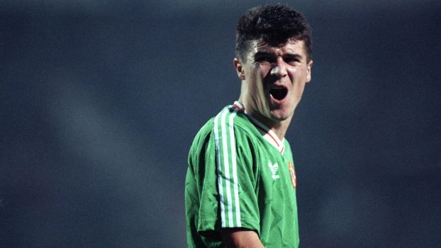 Roy Keane's initial brash persona became more modest overtime. Photo: Alan Betson/Inpho