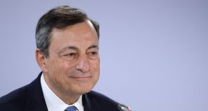 Mario Draghi, president of the European Central Bank: to address the Jackson Hole gathering