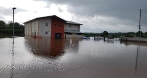 The clean-up is continuing at the Mid Tyrone club Beragh Red Knights, which suffered its third flood in nine years