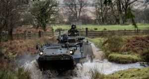 A mission readiness exercise in the Glen of Imall, Co Wicklow. Photograph: Brenda Fitzsimons