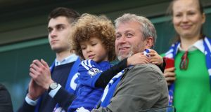 "Chelsea owner Roman Abramovich. When an oligarch-owned club like Chelsea sets new benchmarks for fees and wages, the other clubs are forced to ""get rich or die trying"" if they want to compete. Photograph:  Clive Mason/Getty Images"