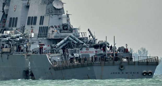 What led to US navy disasters? Sailors lift the lid on bad practices