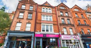 22 Upper Baggot Street: The mix of retail and offices has an annual rent roll of €110,500