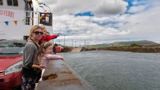 The ferry to Bere Island, Co Cork. Photograph: Michael Mac Sweeney/Provision