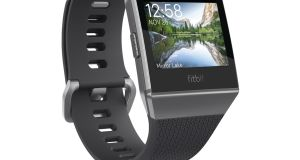 The Fitbit Ionic is the company's first device to include a sensor that can estimate blood oxygen levels.
