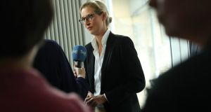 Alice Weidel, co-lead candidate of the right-wing, populist Alternative for Germany (Afd). Photograph: Sean Gallup/Getty Images