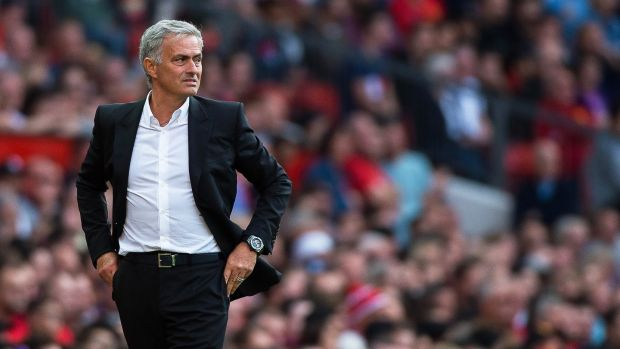 Manchester United manager Jose Mourinho will be delighted with his team's start to the season. Photograph: PA