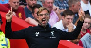 Liverpool boss Jurgen Klopp will hope new signings can help his team push for the title. Photograph: PA