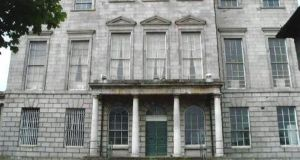 Aldborough House on Portland Row, Dublin 1.