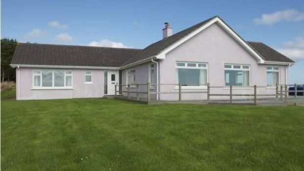 Three-bedroom, four-bathroom house with sea views on an acre at Seascape, Reenogrena, Glandore, Co Cork