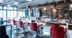 Sam's Barbers has an authentic vintage atmosphere with every hint of modern comfort and style.